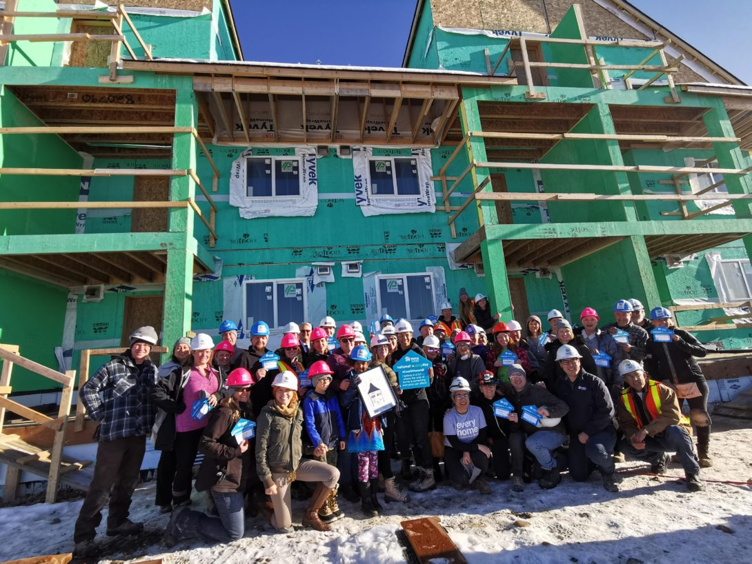 REALTORS Care Week: In Calgary for Habitat build