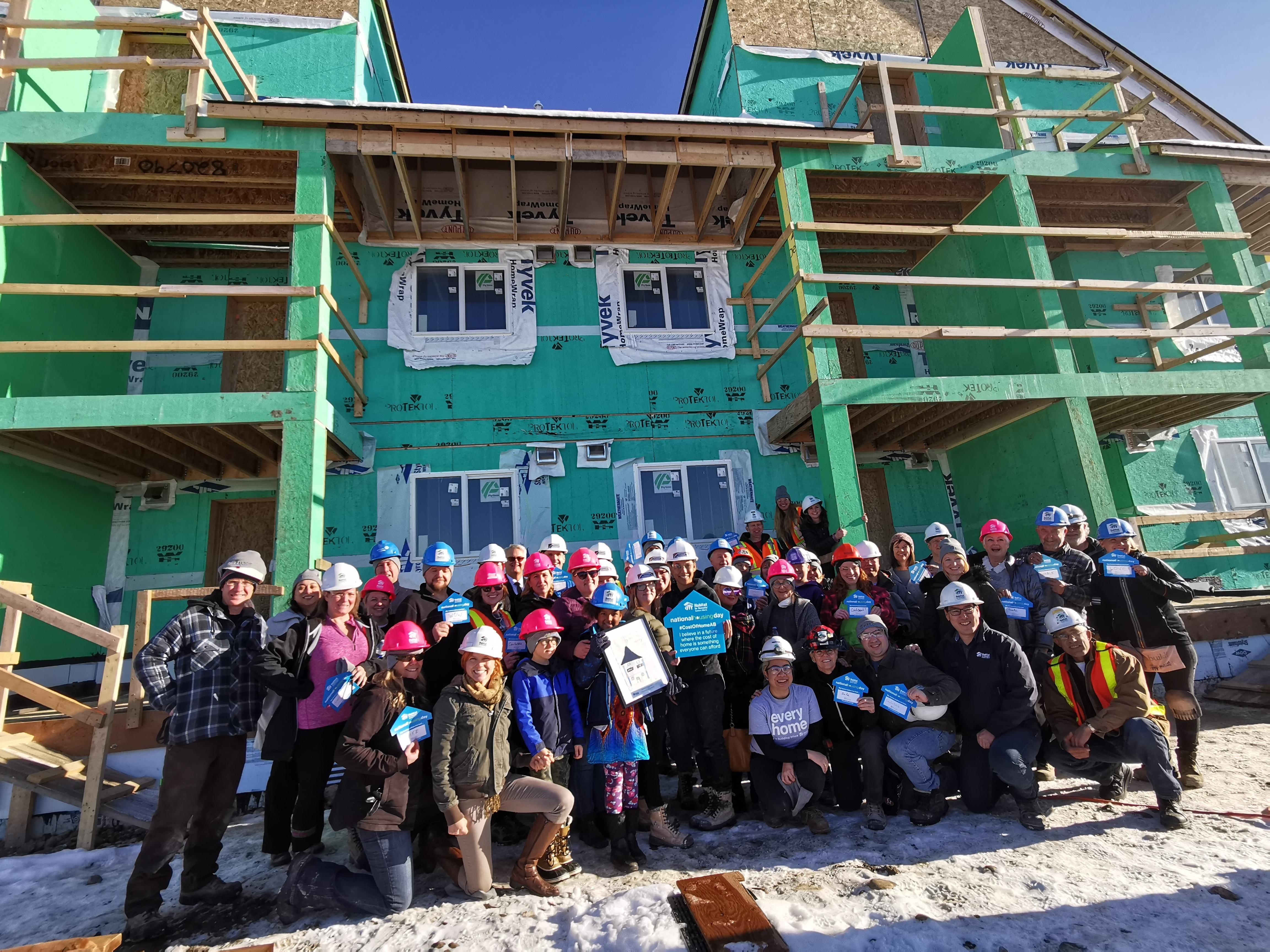 REALTORS Care Week: In Calgary for Habitat build